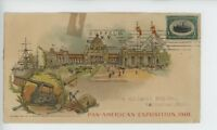 MR FANCY CANCEL USED PAN-AMERICAN EXPO US GOVERNMENT BUILDING 1901 CVR 106