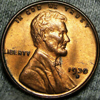 1930-S LINCOLN CENT WHEAT CENT ---- STUNNING  ---- B708