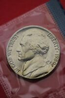 1980 P BU JEFFERSON NICKEL IN CELLO EXACT COIN PICTURED FLAT RATE SHIPPING 19