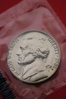 1981 P BU JEFFERSON NICKEL IN CELLO EXACT COIN PICTURED FLAT RATE SHIPPING 03