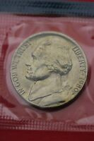 1980 P BU JEFFERSON NICKEL IN CELLO EXACT COIN PICTURED FLAT RATE SHIPPING 15