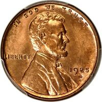 1925-D 1C LINCOLN CENT PCGS MINT STATE 64RD