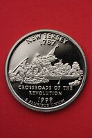 1999 S NEW JERSEY PROOF QUARTER CLAD EXACT COIN PICTURED FLAT RATE SHIPPING 16