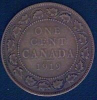 1919 CANADA LARGE CENT COIN 1774