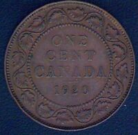 1920 CANADA LARGE CENT COIN 1771