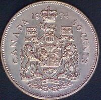 1974 CANADA 50 CENT COIN 1769