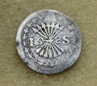 NETHERLANDS HOLLANDIA 1738 1 STUIVER MONEDA PLATA BC D5