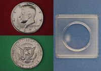 1971 D JOHN KENNEDY HALF DOLLAR WITH 2X2 SNAP FROM MINT SET FLAT RATE SHIPPING
