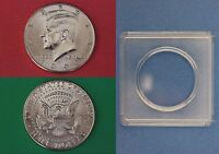 1993 D JOHN KENNEDY HALF DOLLAR WITH 2X2 SNAP FROM MINT SET FLAT RATE SHIPPING
