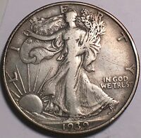 1939 D  WALKING LIBERTY 50C