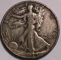 1939 S  WALKING LIBERTY 50C