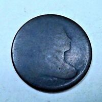 1807 DRAPED BUST LARGE CENT // LOW BALL // LC406