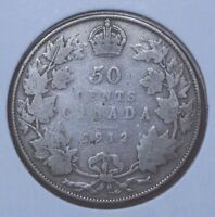 CANADA 1912 50 CENTS
