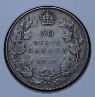 CANADA 1918 50 CENTS