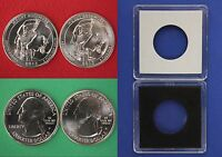 2013 D P MOUNT RUSHMORE QUARTERS WITH 2X2 CASES FROM MINT SETS FLAT RATE SHIP