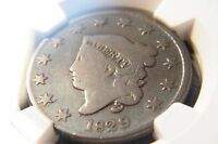 1829 CLASSIC HEAD LARGE CENT G 4 BN NGC