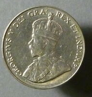 CANADA 1935 FIVE CENTS PLEASING  XF