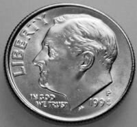 1994 P DIME ROOSEVELT UNCIRCULATED