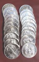 1987 AMERICAN SILVER EAGLE ROLL OF 20
