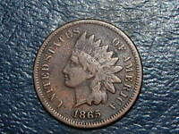 1865 INDIAN HEAD CENT  COIN  323