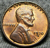 1930-S LINCOLN CENT WHEAT CENT --- GEM BU CONDITION --- A221