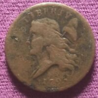 US 1793 HALF  1/2  CENT  COIN GREAT DETAILS. OPPORTUNITY KNOCKS