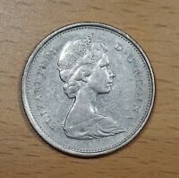 CANADA 1973 LARGE BUST 25 CENT KEY DATE