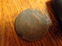 CLASSIC HEAD LARGE CENT - LOT COIN W-583 -DAMAGED