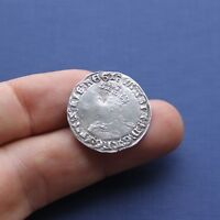 HAMMERED SILVER COIN MARY GROAT C 1553 AD
