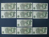 10NO. 1970 PAGE  GB/ENGLAND  1 REPLACEMENT BANKNOTES MAINLY