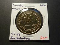 MINTAGE OF 40   NS89 2006 BAIE SAINTE MARIE NS GOLD PLATED ISSUE