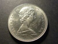 CANADA 1969 NICKEL $1 SHORT WATER LINES  SWL  CH 1969 REV 002
