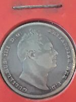 1834 SILVER SIX PENCE