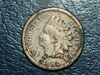1862 INDIAN HEAD CENT COPPER/NICKEL   2525