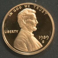 1989 S LINCOLN CENT PENNY PROOF