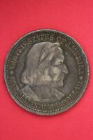 1893 COLUMBIAN EXPOSITION HALF DOLLAR EXACT COIN SHOWN FLAT RATE SHIPPING OCE379