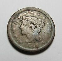 1851? OR 1854? LARGE CENT   NOT SURE OF DATE SEE PHOTOS  COMBINED SHIP  LOT R55
