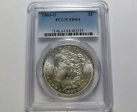 1883 O MORGAN SILVER DOLLAR   GREAT DATE   PCGS MS64 COMBINED SHIPPING LOT K10