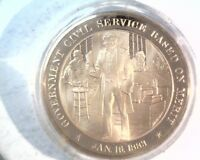 1883 FRANKLIN MINT HISTORY OF THE UNITED STATES PROOF BRONZE MEDAL  35G   45MM