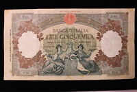 1947  1960  ITALY. 5000 LIRE. BANKNOTE