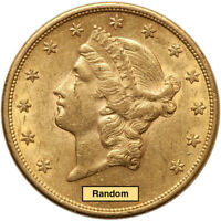 US GOLD $20 LIBERTY HEAD DOUBLE EAGLE   XF CONDITION   RANDOM DATE