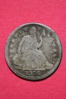 CULL 1839 P SEATED LIBERTY HALF DIME EXACT COIN SHOWN FLAT RATE SHIPPING OCE 171