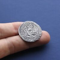 HAMMERED SILVER COIN DAVID 2ND SCOTTISH GROAT C 1329 AD
