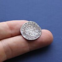 HAMMERED SILVER COIN HENRY 6TH HALF GROAT ANNULET ISSUE C 14