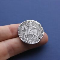 HAMMERED SILVER COIN CHARLES 1ST HALF CROWN / YORK C 1642 AD