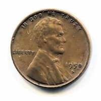 U.S. 1950 S LINCOLN WHEAT CENT - AMERICAN ONE CENT COIN - SAN FRANCISCO MINT
