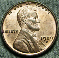 1929-D LINCOLN CENT WHEAT CENT --- GEM BU CONDITION --- N999