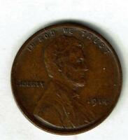 ABOUT UNCIRCULATED 1914-P LINCOLN WHEAT CENT. SEE THE SCANS.