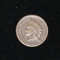 1864 L INDIAN HEAD CENT - POINTED BUST