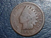 1886 VARIETY 2  INDIAN CENT 2349